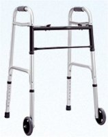 Allied Med Walker w/ Wheels RF-W102
