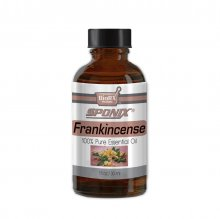 Sponix Frankincense Essential Oil - Aromatherapy and Therapeutic Grade Oil - 100% Pure and Natural - 1 OZ
