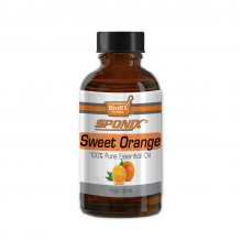 Sponix Sweet Orange Essential Oil - Aromatherapy and Therapeutic Grade Oil - 100% Pure and Natural - 1 OZ