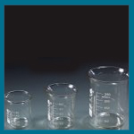 Pharmacy Glass Beaker Compounding Dish