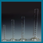 Pharmacy Glass Measuring Cylinder